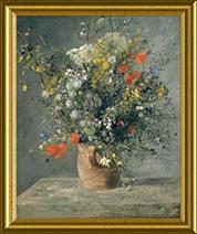 Flores num vaso
