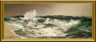 O mar ruidoso